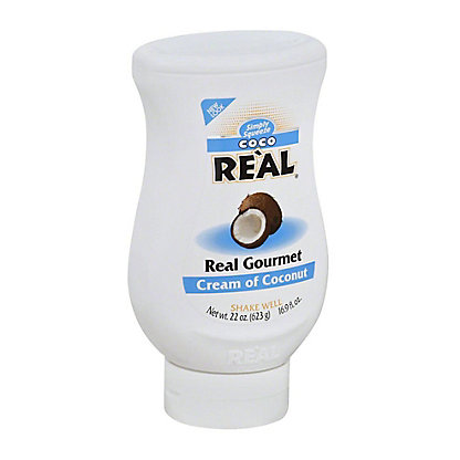 Real Simply Squeeze Cream of Coconut, 22 oz