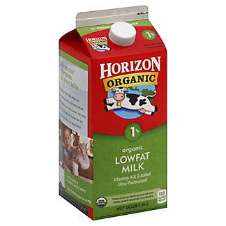 Horizon Organic Lowfat 1% Milkfat Milk, 1/2 gal
