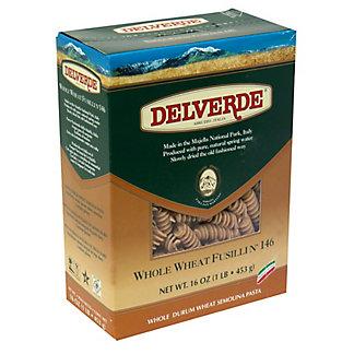 Delverde Whole Wheat Fusili Pasta,16 oz (1 lb) 453 g