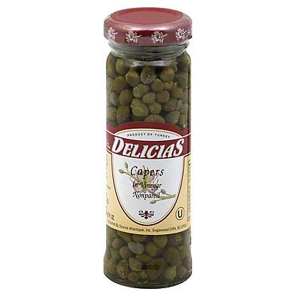 Delicias Capers in Vinegar,3.5 OZ