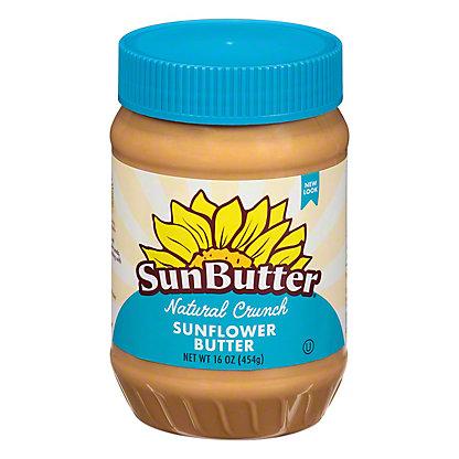 SunButter Natural Crunch Sunflower Seed Spread,16.00 oz