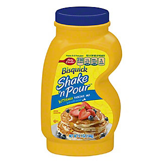 Bisquick Shake 'n Pour Buttermilk Pancake Mix,5.10 oz