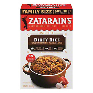 Zatarain's Dirty Rice Mix Family Size, 12 oz