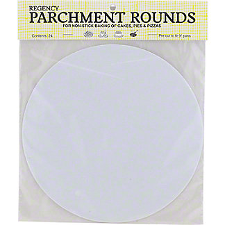 Harold Imports Parchment Rounds 9 Inch, 24 ct