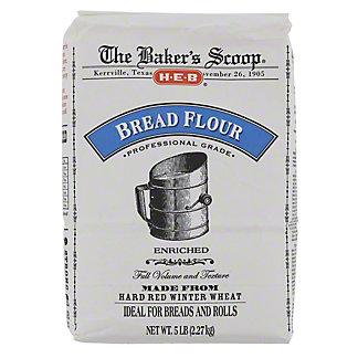H-E-B Baker's Scoop Bread Flour,5 LBS