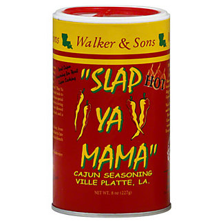Walker & Sons Slap Ya Mama Hot Cajun Seasoning,8 OZ