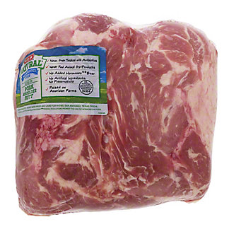 H-E-B Natural Boston Butt Pork Roast