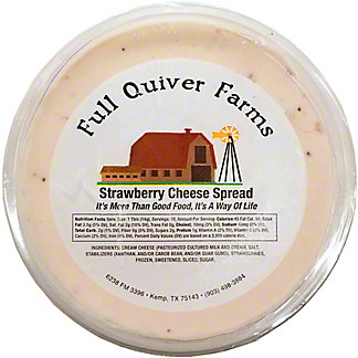 Full Quiver Farms Strawberry Cheese Spread,LB