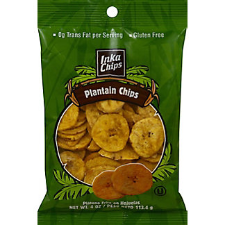 Inka Corn Gourmet Roasted Plantain Chips,4 OZ