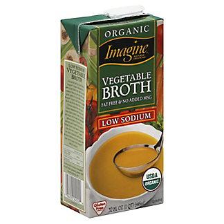 Imagine Natural Creations Vegetable Broth Low Sodium, 32 fl oz (1 qt) 946 ml