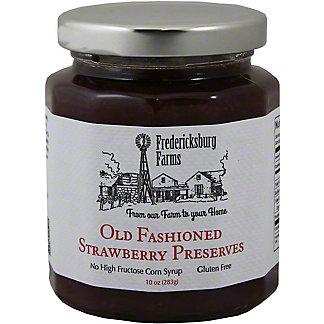 Fredericksburg Farms Preserves Old Fashioned Strawberry,10 OZ