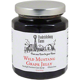 Fredericksburg Farms Wild Mustang Grape Jelly, 10 oz