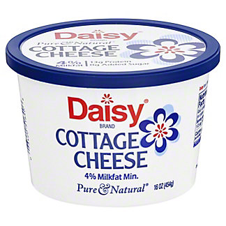 Daisy Daisy Small Curd 4% Milkfat Minimum Cottage Cheese,16 oz