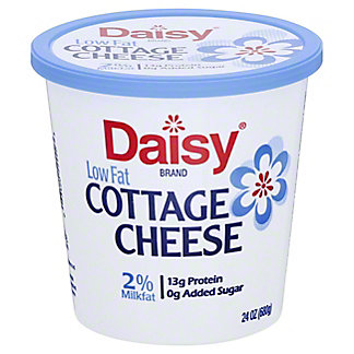 Daisy Small Curd 2% Milkfat Low Fat Cottage Cheese,24.00 oz