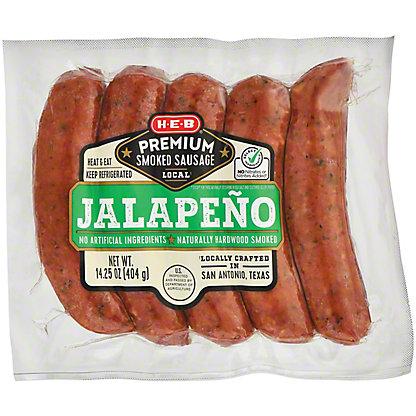 H-E-B Premium Jalapeno Smoked Sausage Links