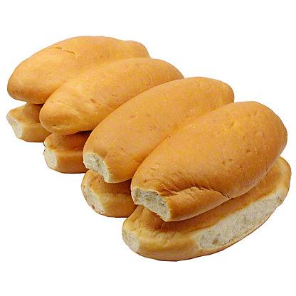Central Market Pain Au Lait Hot Dog Buns 8 Count,8 CNT