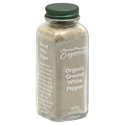 Central Market Organics Ground White Pepper,2.11 OZ