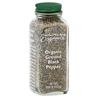 Central Market Organics Ground Black Pepper,2.09 OZ