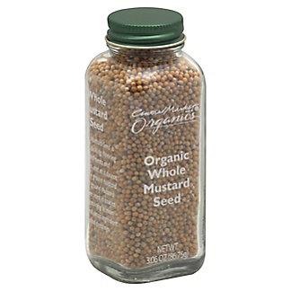 Central Market Organics Whole Mustard Seed,3.06 OZ