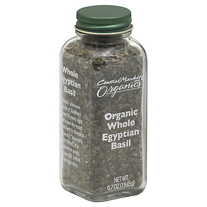 Central Market Organics Whole Egyptian Basil,0.70 OZ