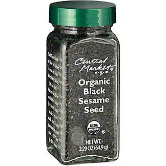 Central Market Organics Black Sesame Seed,2.75 OZ
