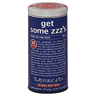 The Republic of Tea Get Some ZZZ's Tea Bags for Rest,36 CT