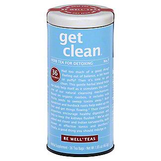 The Republic of Tea Get Clean Tea Bags for Detoxing,36 CT