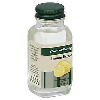 Central Market Pure Lemon Extract,2 OZ