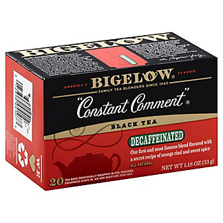 Bigelow Constant Comment Decaffeinated Tea Bags,20.00 ea