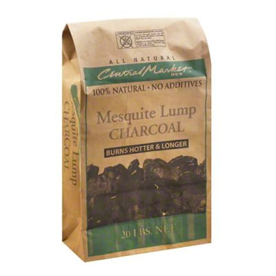 Central Market Mesquite Lump Charcoal, 20 LBS