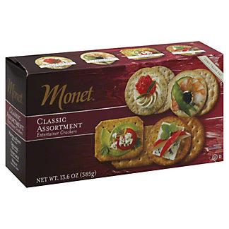 Monet Classic Cracker Assortment, 13.6 oz