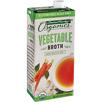 Central Market Organics Vegetable Broth, 32 oz