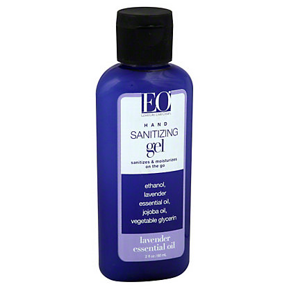 EO Lavender Essential Oil Hand Sanitizing Gel, 2 oz
