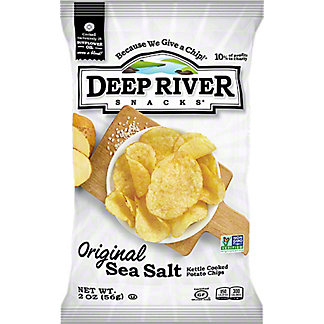 Deep River Snacks Potato Chips Original Salted,5 OZ