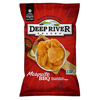 Deep River Snacks Mesquite BBQ Kettle Cooked Potato Chips,5 OZ