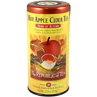 The Republic of Tea Hot Apple Spice Cider Tea Bags, 36 ct