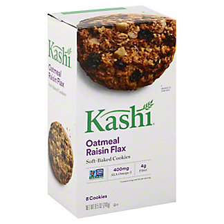 Kashi Oatmeal Raisin Flax Soft Baked Cookies, 8.5 oz