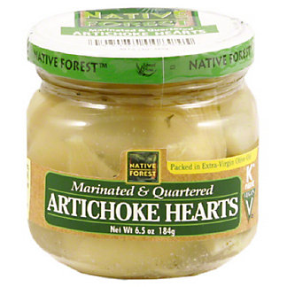Native Forest Marinated and Quartered Artichoke Hearts,6.50 oz