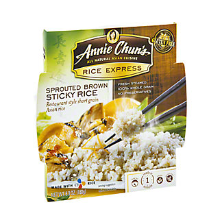 Annie Chun's Rice Express Sprouted Brown Sticky Rice,6.3 OZ