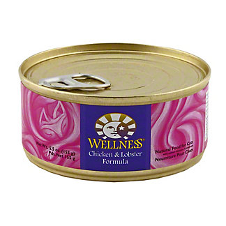 Wellness Chicken & Lobster Cat Food, 5.5 OZ