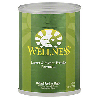 Wellness Lamb and Sweet Potato Formula Dog Food, 12.5 OZ