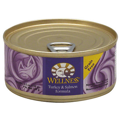 Wellness Turkey & Salmon Formula Cat Food, 5.5 OZ