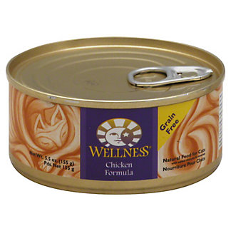 Wellness Chicken Formula Cat Food, 5.5 OZ