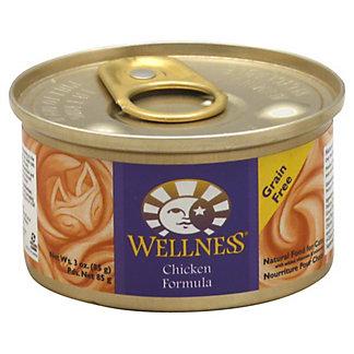Wellness Chicken Formula Cat Food,3 OZ