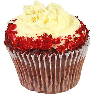 Central Market Red Velvet Cup Cake, ea