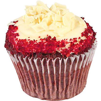 Central Market Red Velvet Cup Cake, ea