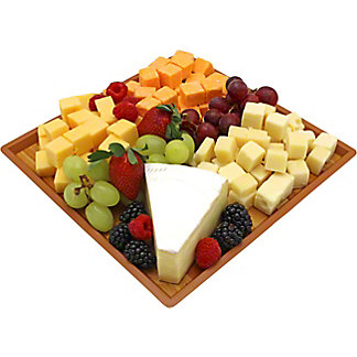 Central Market Cheese And Fruit Tray, ea