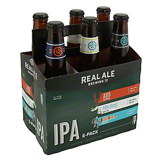 Real Ale Sampler 6 PK,12 OZ