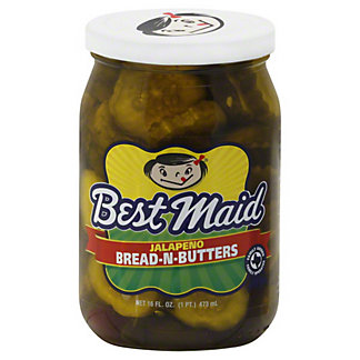 Best Maid Best Maid Jalapeno Bread-N-Butters,16 oz