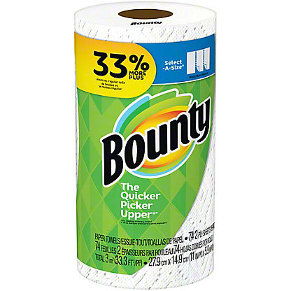 Bounty Select-A-Size Paper Towels,1 Big Roll